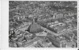 Carte postala Cluj vedere generala perioada regalista, Necirculata, Printata