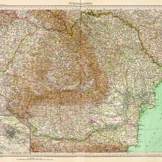 Harta Romania Mare 1929 |