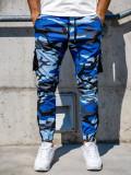 Pantaloni trening cargo albastru Bolf 0705