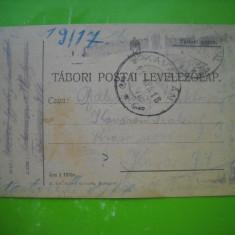 HOPCT 179 N CARTE POSTALA PRIZONIERI DE RAZBOI-C DAICOVICIU CARAS SEVERIN 1918