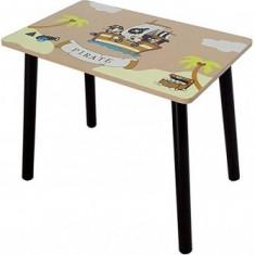 Set masuta si 2 scaunele Copii Fun Pirate Brown