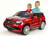 Kinderauto Mercedes GLS63 AMG 2x4, 12V, 2 Locuri #Rosu