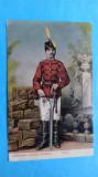 Bucuresti Uniforma Rosior Armata Romana, Circulata, Printata