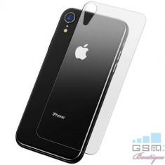 Folie Sticla Securizata Capac Baterie Spate iPhone XR
