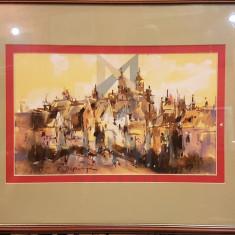 "TABLOU, RADU DARANGA ""PEISAJ DIN IASI"", 2016"