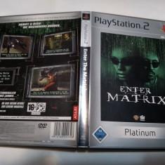 [PS2] Enter the Matrix - Platinum - joc original Playstation 2
