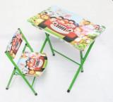 Set masuta pentru copii si scaunel pliabil