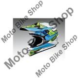 MBS Shoei Mx Helm Vfx-W Turmoil Tc-2, Blau, M=57-58, P:16/097, Cod Produs: 1406177MAU