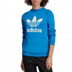 Hanorac sport adidas Trefoil Crewneck Sweatshirt ED7582 pentru Femei