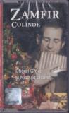 Caseta audio: Gheorghe Zamfir - Colinde ( 2002, originala - SIGILATA )