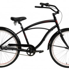 Bicicleta Oras Devron Urbio U2.6 L 470mm Black Passion 26