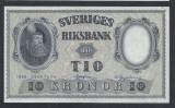 A5150 Sweden Suedia 10 kronor 1958 SEMNATURI DIFERITE aUNC