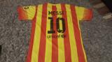Tricou original NIKE nr 10 MESSI maneca scurta FCB FC Barcelona marimea L