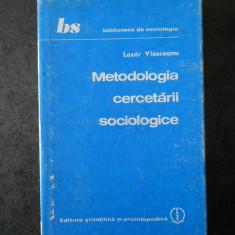 LAZAR VLASCEANU - METODOLOGIA CERCETARII SOCIOLOGICE