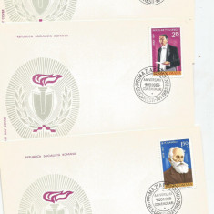 (No4) FDC ROMANIA-1982 - Aniversari , comemorari - LP1049