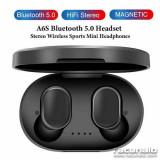 A6S Mini TWS HD Stereo Airdots Twins Casti fara fir Casti Sport Stereo, NEGRO, Casti In Ear, Bluetooth