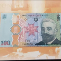 Bancnota 100 LEI I.C. Bratianu