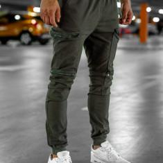 Pantaloni trening bărbați maro Bolf 0475