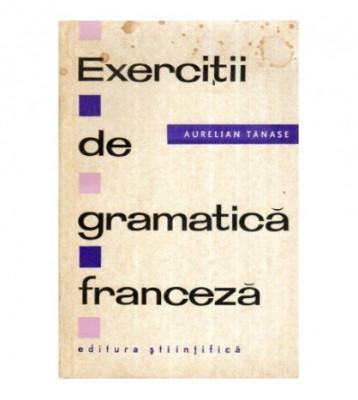 Exercitii de gramatica franceza foto