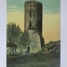 Carte postala necirculata Targoviște-Turnul Chindia cca 1910, Printata