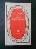 ST. O. IOSIF - POEZII ORIGINALE SI TALMACIRI