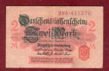 Bancnota Germania  - zwei MARK - DOUA MARCI - 2 MARK 1914