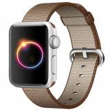 Cumpara ieftin Curea pentru Apple Watch 40 mm iUni Woven Strap, Nylon, Brown