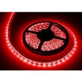 Banda LED rosu 5m protectie ip65