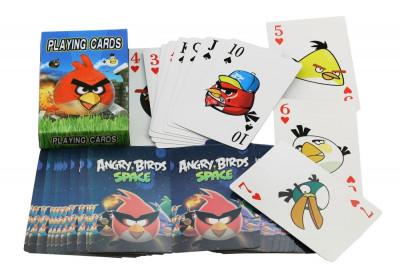 Carti de joc Angry Birds Pasarile Furioase foto