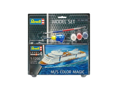 Model Set - Vaporul M/S Color Magic - Rv65818 foto