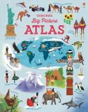 Big picture atlas - Carte Usborne (4+)