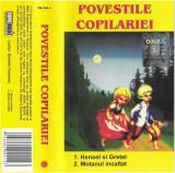 Casetă audio Daniela Crăsnaru – Poveștile Copilăriei, Casete audio