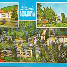 CPIB 15173 - CARTE POSTALA - SLANIC MOLDOVA, MOZAIC