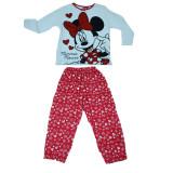 Pijama pentru fete Minnie Mouse Disney DISM-GPYJL32573-128, Multicolor