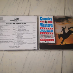 CD Compilatie Country and Western Music