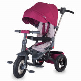 Cumpara ieftin Tricicleta Coccolle Corso multifunctionala roti cauciuc - Violet
