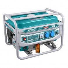 Generator benzina Total, 2800 W, 3000 rpm, 15 l, motor 4 timpi, sistem racire foto