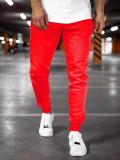 Pantaloni de trening roșu-deschis bărbați Bolf XW01