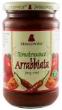 Sos BIO de rosii Arrabbiata - 340 g ZWERGENWIESE