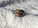 INEL argint ETNIC TRIBAL ornat cu AUR de efect VECHI vintage RAR exceptional