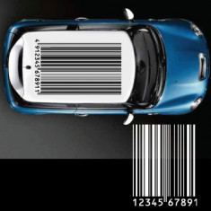 Sticker auto plafon - BARCODE