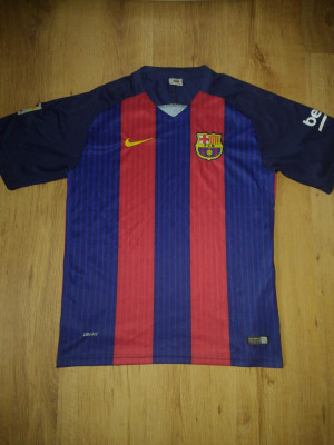 Tricou vintage Nike Barcelona mărimea M/L foto