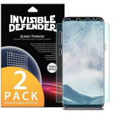 Set 2 Folii Samsung Galaxy S8 Plus Ringke Invisible Defender Full Cover