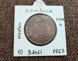 Cumpara ieftin 10 bani 1867, Heaton, România