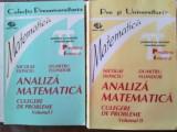 Analiza matematica culegere de probleme 1, 2- Nicolae Donciu, Duitrun Flondor