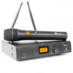 Power Dynamics PD781, sistem de microfon fără fir UHF cu 8 canale
