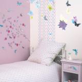 Decoratie mobila fluturi