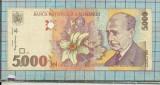 Bancnota 5000 lei 1998 seria 008B ..830