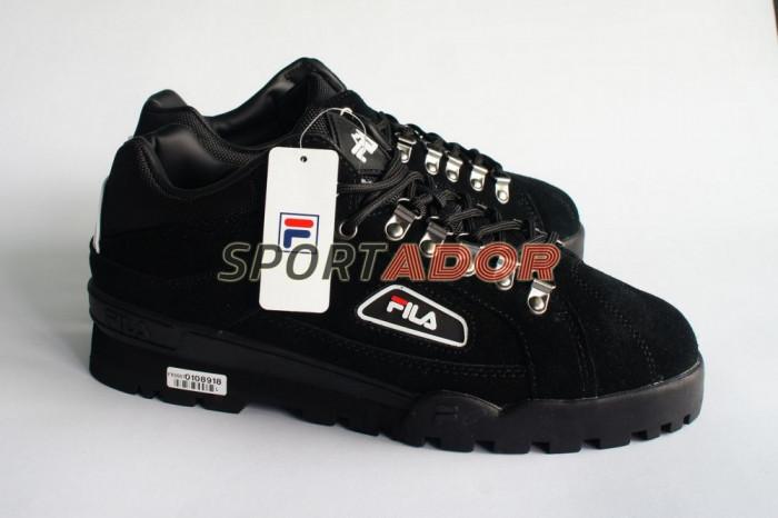 Bocanci Fila Trail Blazer Suede negru, 42, 43, 44EU - factura garantie