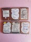 lot 6 harduri pentru laptop - defecte - pentru  piese -